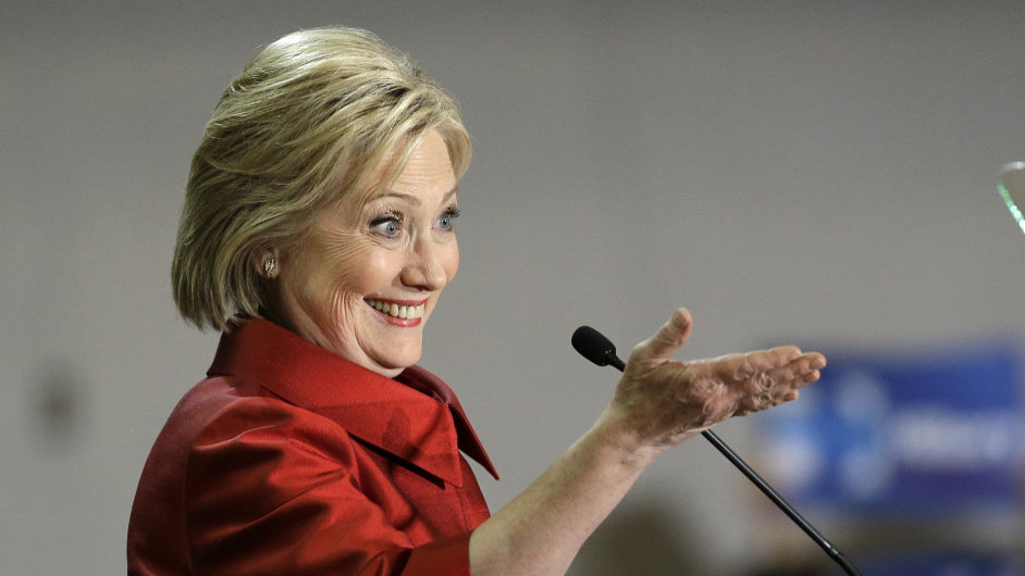 Clintonová Hillary, USA, volby, prezident