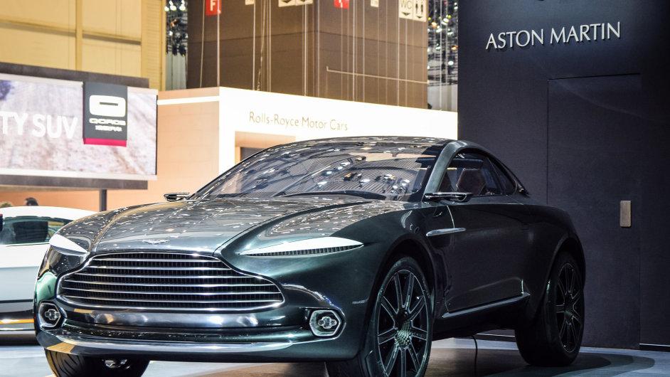 Aston Martin investuje do zvýšení výroby, mimo jiné do nového modelu crossoveru DBX.