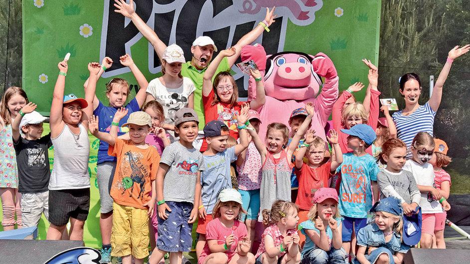 Třídenní rodinný festival Pigyáda s podtitulem Léto lásky nabízí zábavu pro všechny generace.