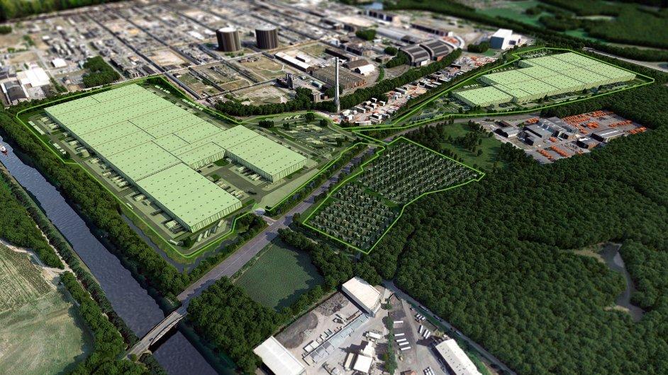 Goodman vybuduje pro Metro nové logistické centrum s plochou 235 000 metrů čtverečních