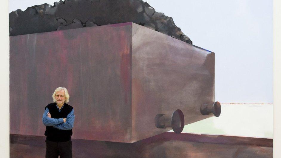 Snímek z výstavy Jana Merty