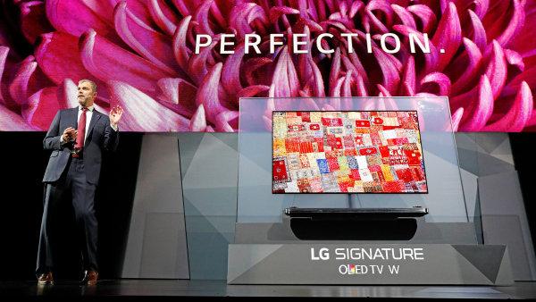 Tenká OLED televize LG