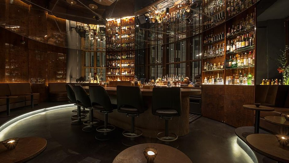 Bar Circle v mnichovském klubu Hearthouse