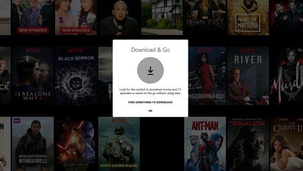 Aplikace Netflix pro Windows 10