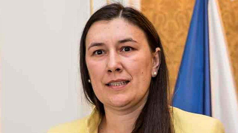 Jaroslava Beneš Špalková, ředitelka odboru řízení exportní strategie a služeb na ministerstvu průmyslu a obchodu (MPO)