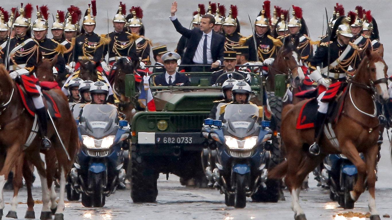 Emmanuel Macron se stal novým prezidentem Francie
