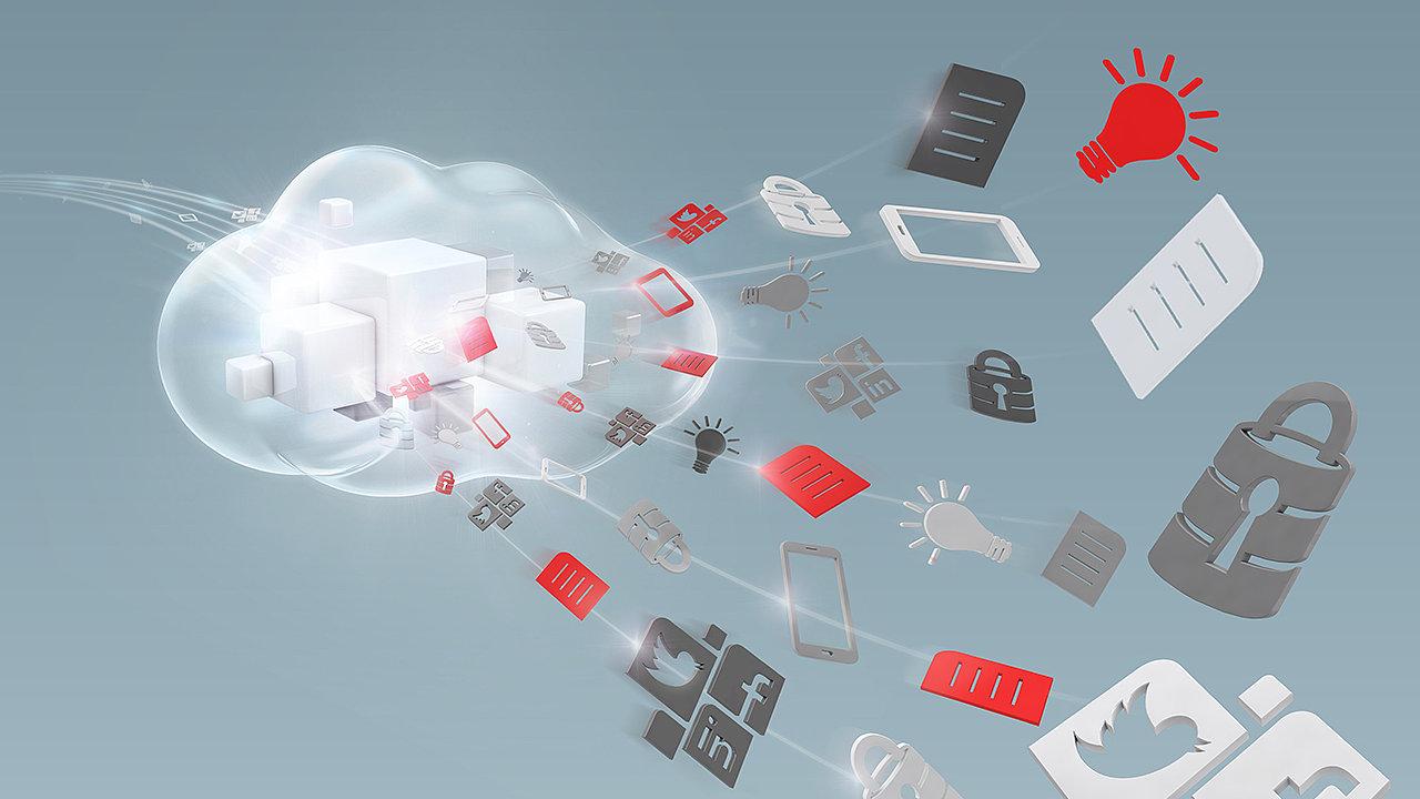Oracle Cloud - ilustrace