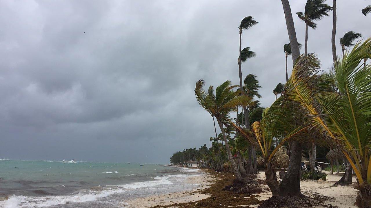 Hurikán Maria, Punta Cana, Dominikánská republika