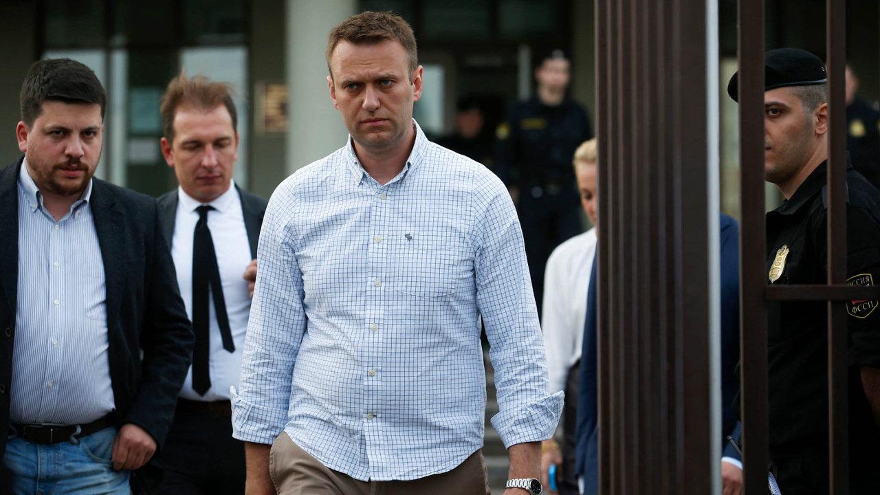 Protikorupční aktivista a politik Alexej Navalnyj