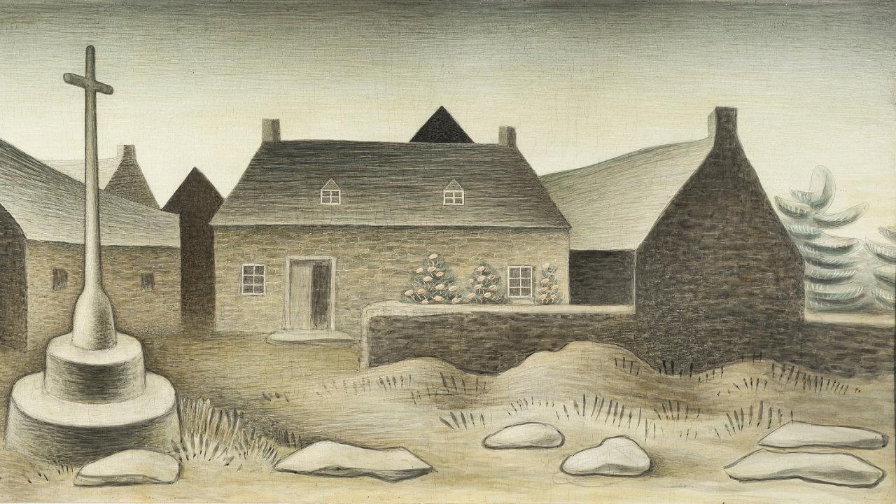 Vyvolávací cena Zrzavého obrazu Kalvárie v Locronanu II. byla 6 milionů korun, nakonec se prodal za 17,4 milionu s přirážkou.