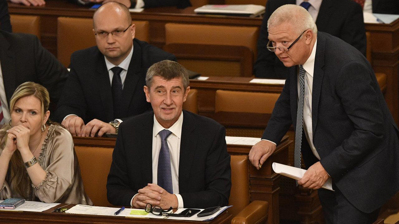 Sněmovna již dostala žádost o vydání předsedy ANO Andreje Babiše a místopředsedy hnutí Jaroslava Faltýnka k trestnímu stíhání v kauze dotace pro Farmu Čapí hnízdo.