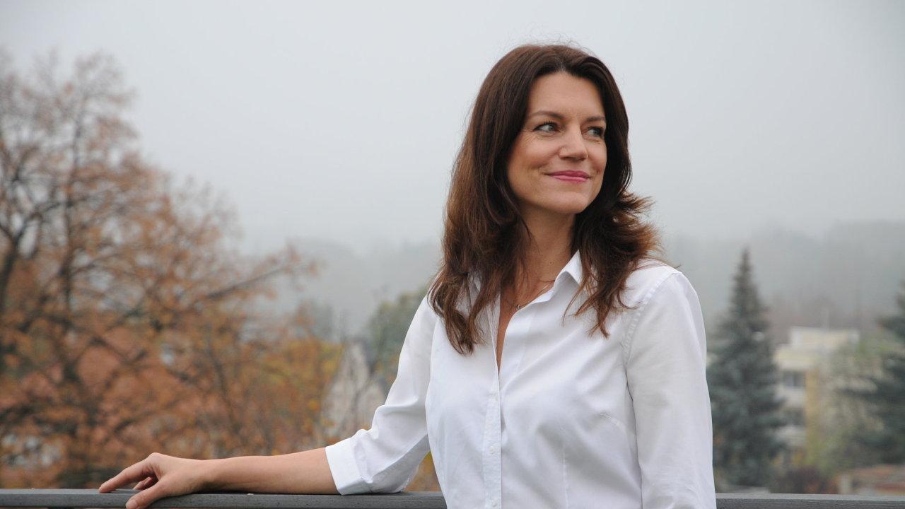 Andrea Ferancová Bartoňová, jedna ze zakladatelek fondu Espira.