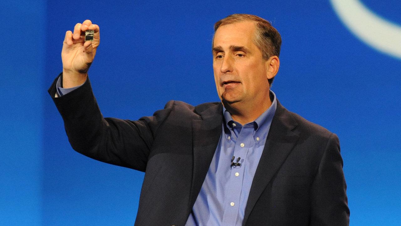 Brian Krzanich, šéf výrobce procesorů Intel.