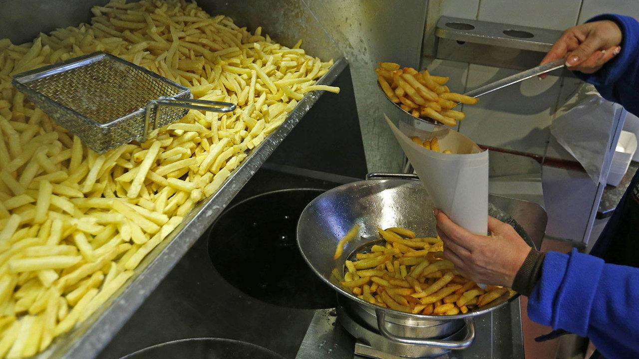 Kolumbie uvalila cla na dovoz hranolek z Belgie, Německa a Nizozemska - Ilustrační foto.