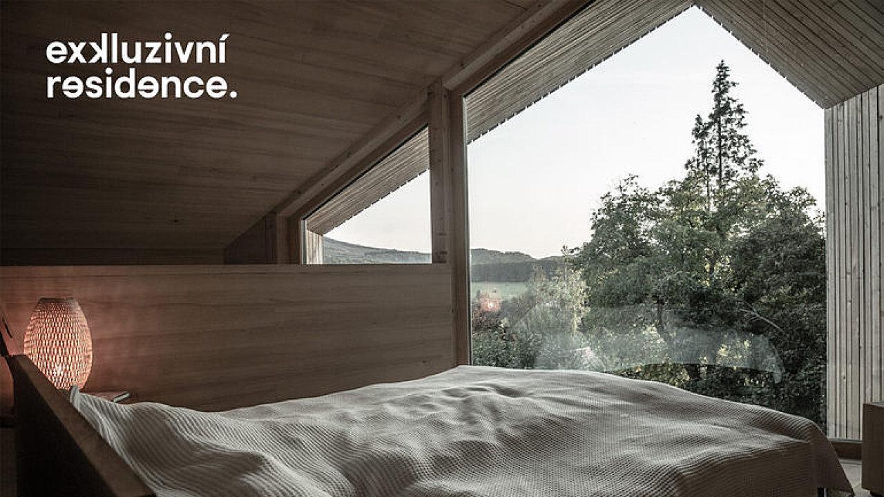 Tady budete chtít bydlet. Stavba v lůně přírody s krásným výhledem.
