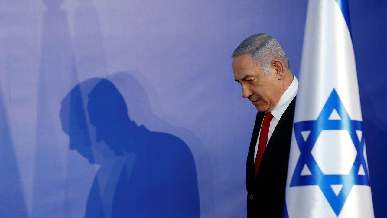 Izraelský premiér Benjamin Netanjahu pohrozil anektováním části Západního břehu Jordánu.