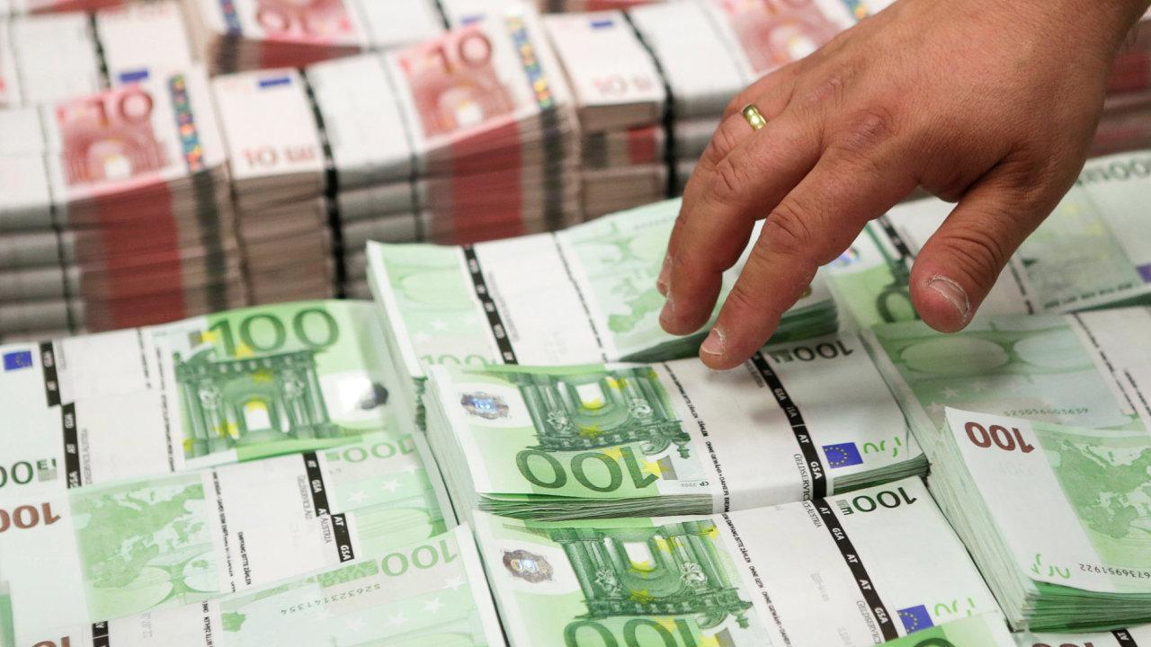 Euro, bankovky.