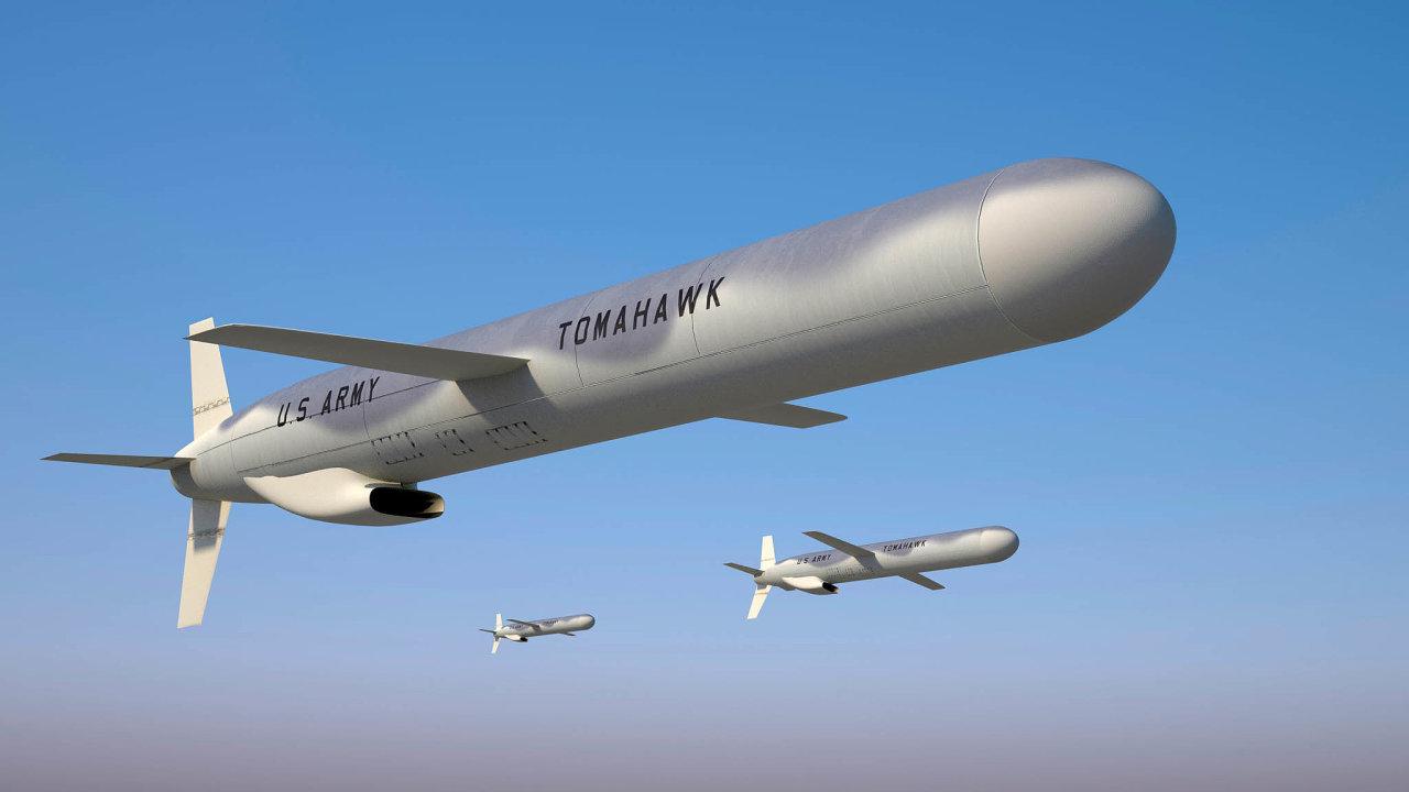 Střely Tomahawk od koncernu Raytheon