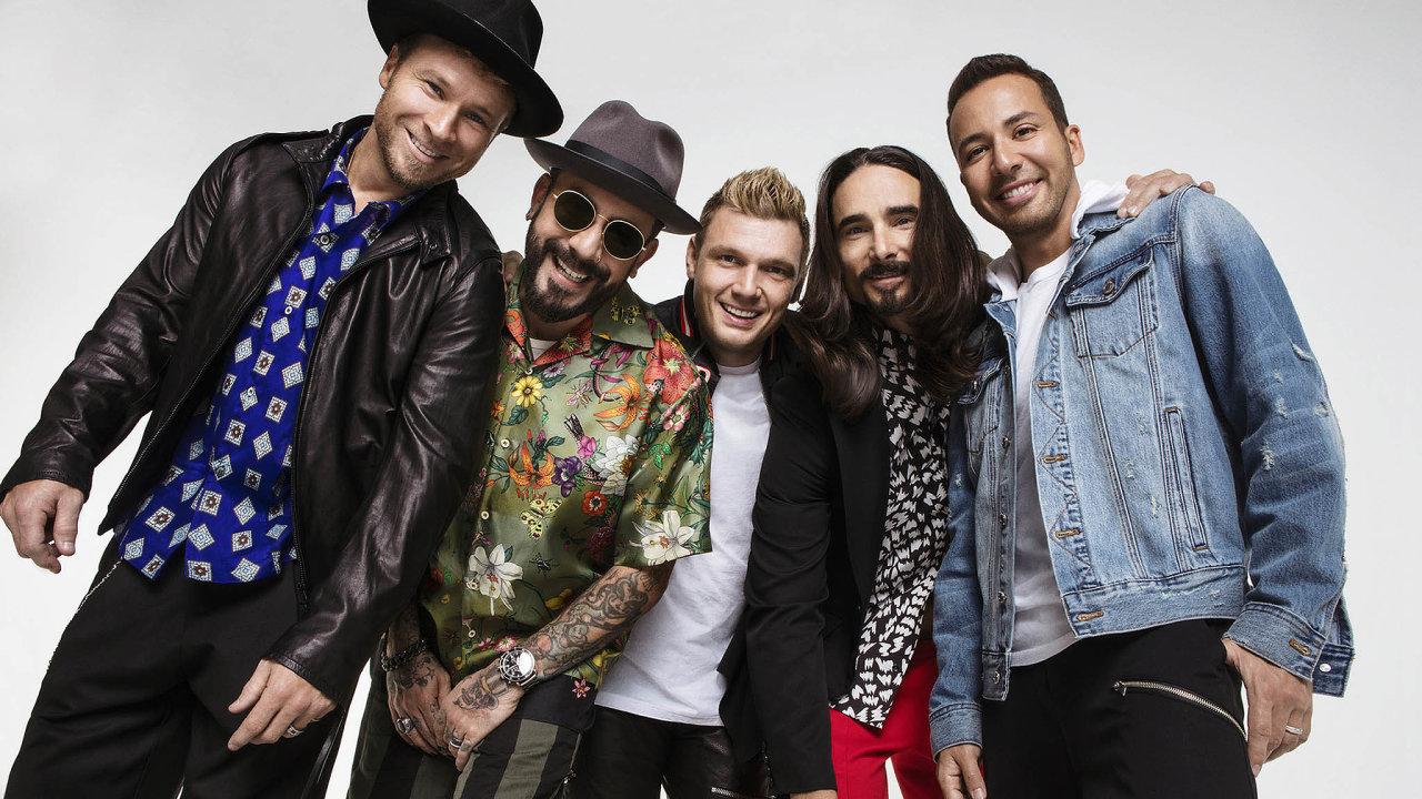 Skupina Backstreet Boys představí 22. června v Praze nové album DNA.