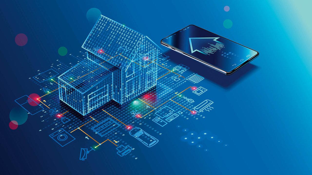 Chytré domácnosti šetří energii achrání byt před zloději (ilustrační foto).