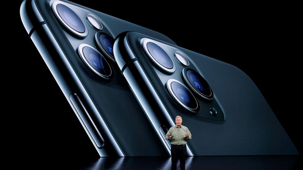 Představení iPhonu 11 Pro.