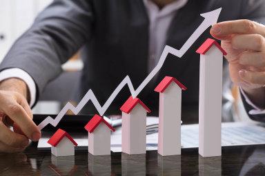 Realitní fondy těží z růstu cen nemovitostí - Ilustrační foto.