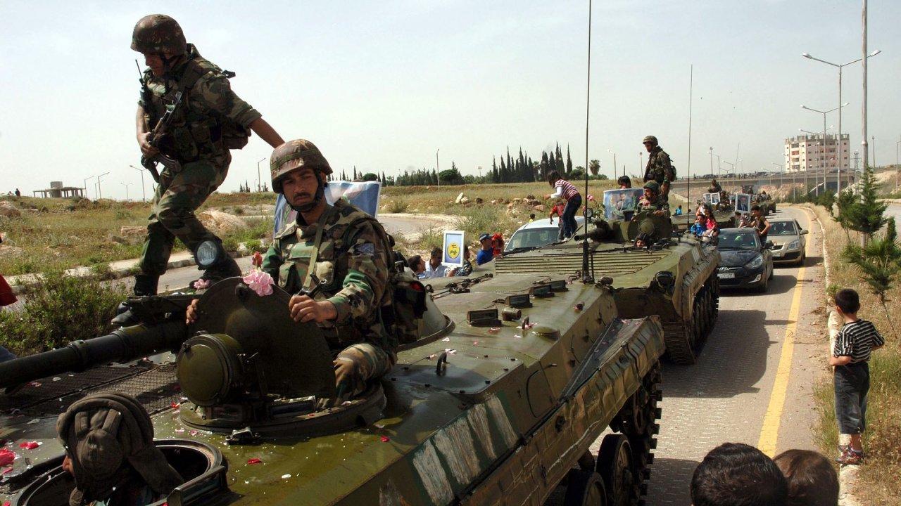 Vojáci syrské armády