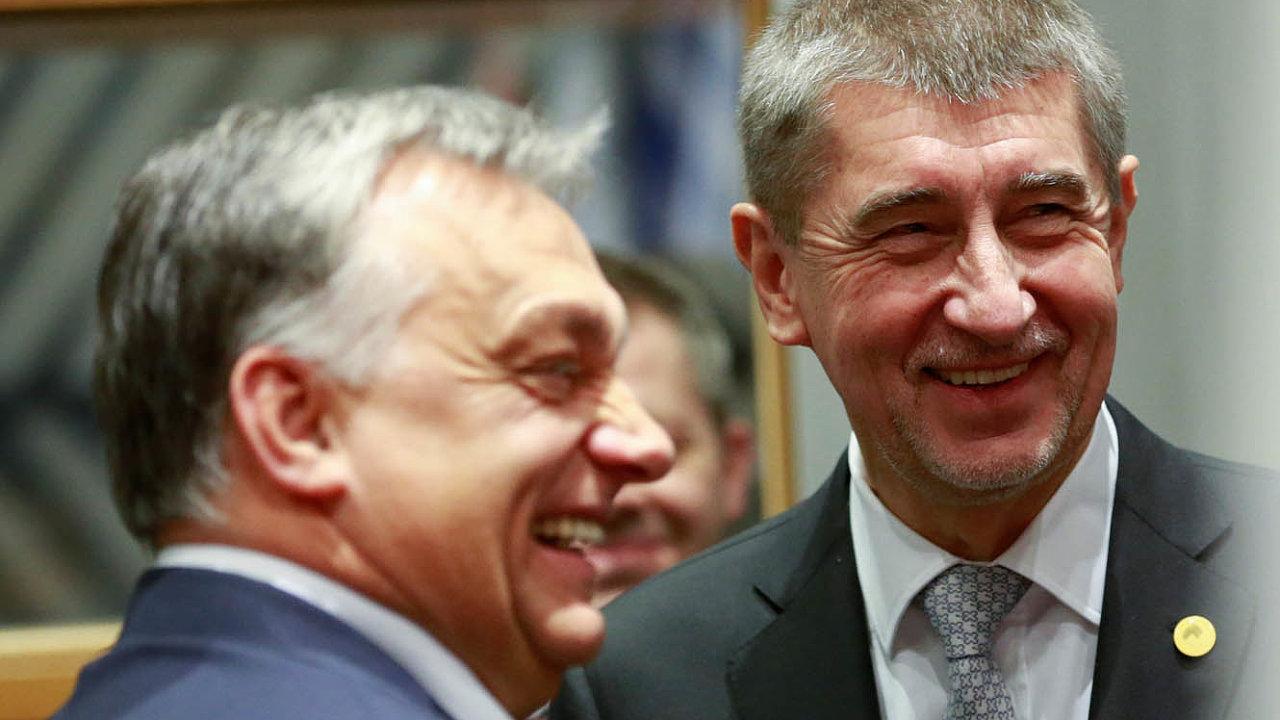 Český premiér Andrej Babiš a jeho maďarský protějšek se neustále sbližují.