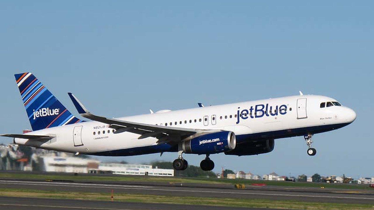 Airbus A320 společnosti JetBlue