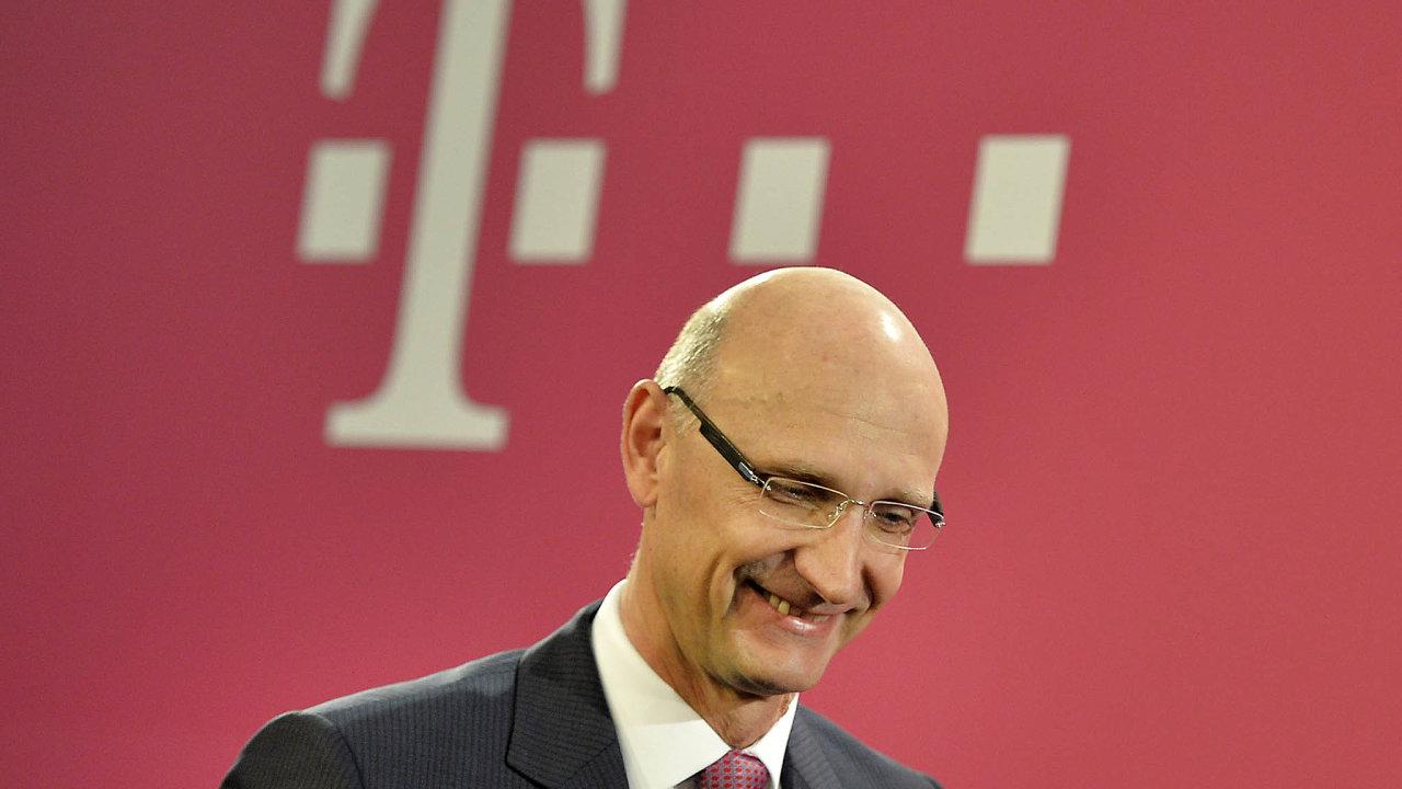 Šéf Deutsche Telekomu Timotheus Höttges má podle mnohých kritiků až příliš blízko kčínské firmě Huawei.