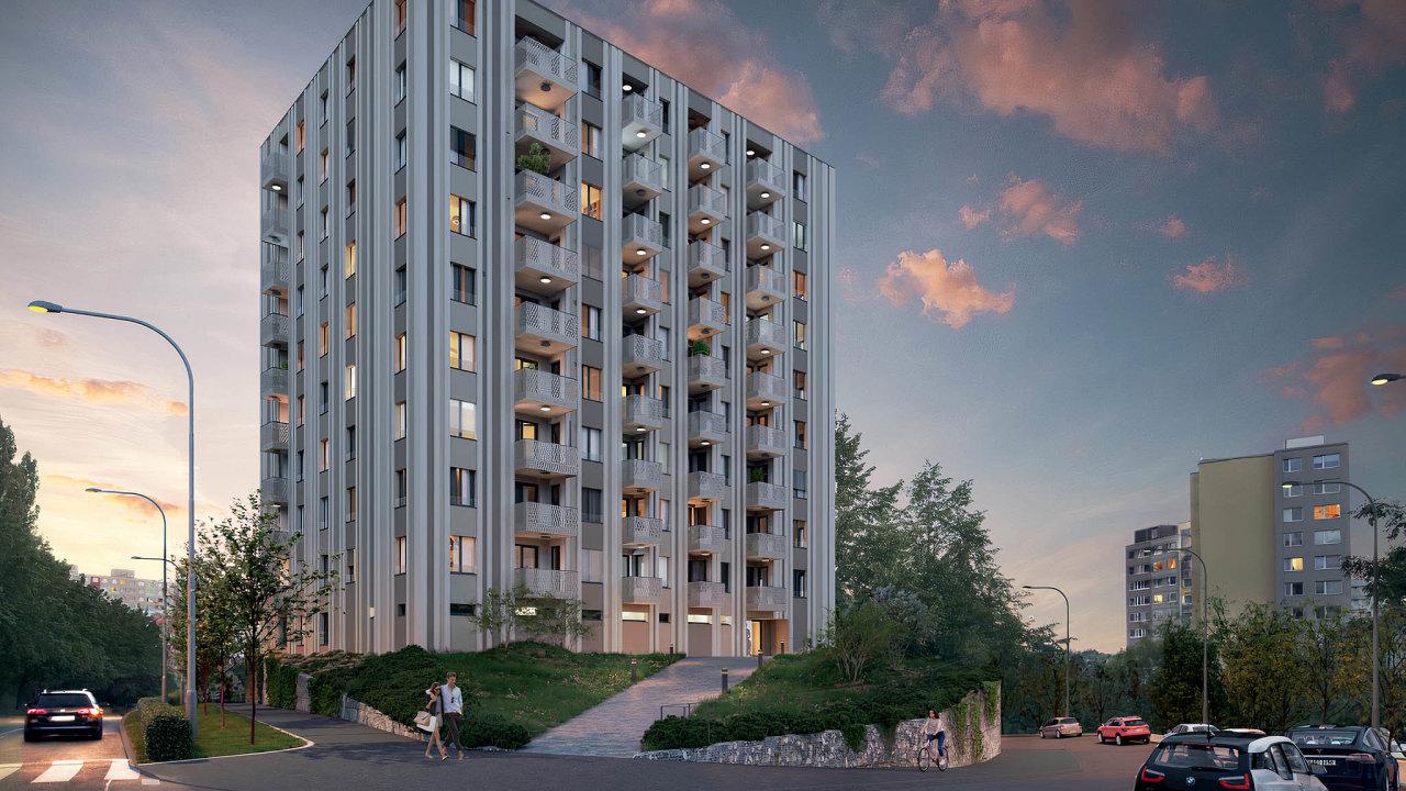 Realitní kancelář Lexxus zahájila prodej bytů vprojektu Alfa Residence vpražských Stodůlkách. Desetipatrový dům ustanice metra nabízí 76 bytů. Jsouvětší než ty, které se běžně staví.