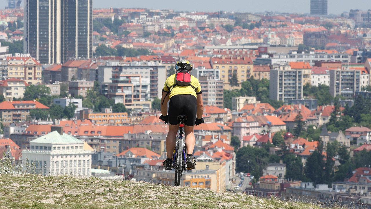 Víc nakole: Praha idalší města chtějí ještě více podpořit cyklistiku.