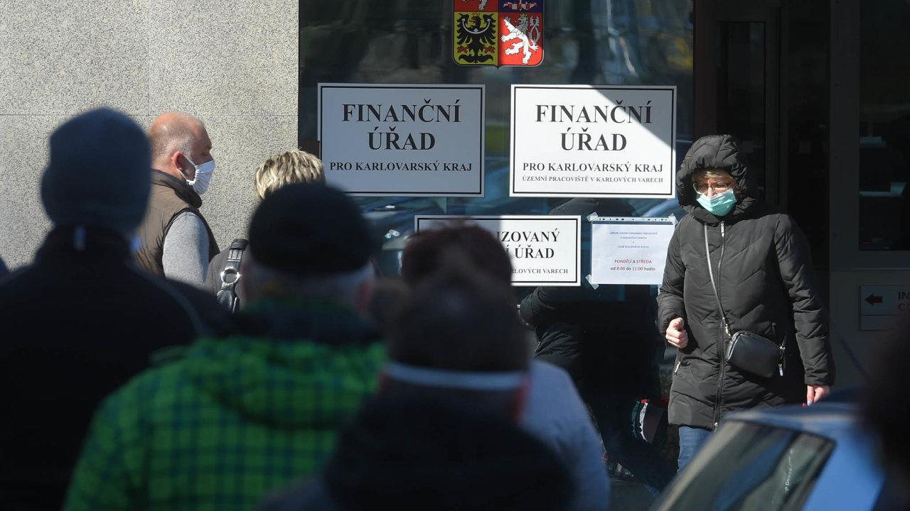Finanční správa spodáváním trestního oznámení nezahálí.