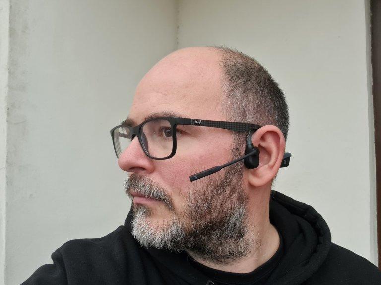 AfterShokz OpenComm se zvukem pracují jinak než ostatní sluchátka