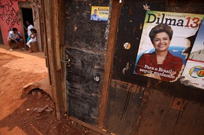 Dilma Rouseffová, Brazílie, prezidentské volby, Lula da Silva
