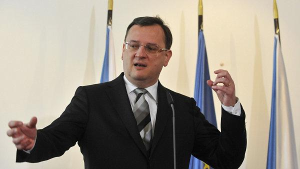 Premi�r Petr Ne�as (ODS)