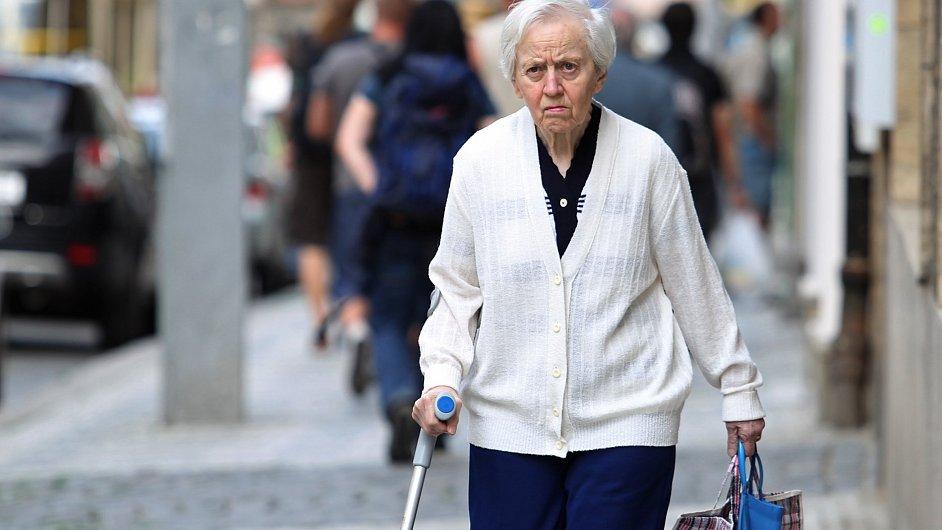 Důchodce - Ilustrační foto.