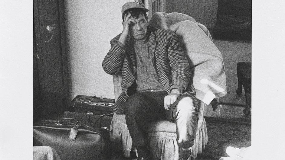 Jack Kerouac naposledy na návštěvě u Ginsberga roku 1964.