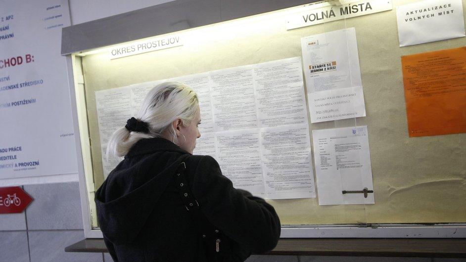 Úřad práce v Prostějově (ilustrační foto)