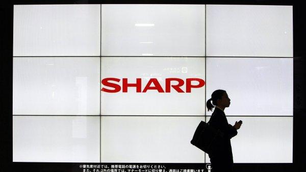 Sharp se podobně jako ostatní japonští výrobci elektroniky dostal pod tlak kvůli ostré asijské konkurenci – ilustrační foto.