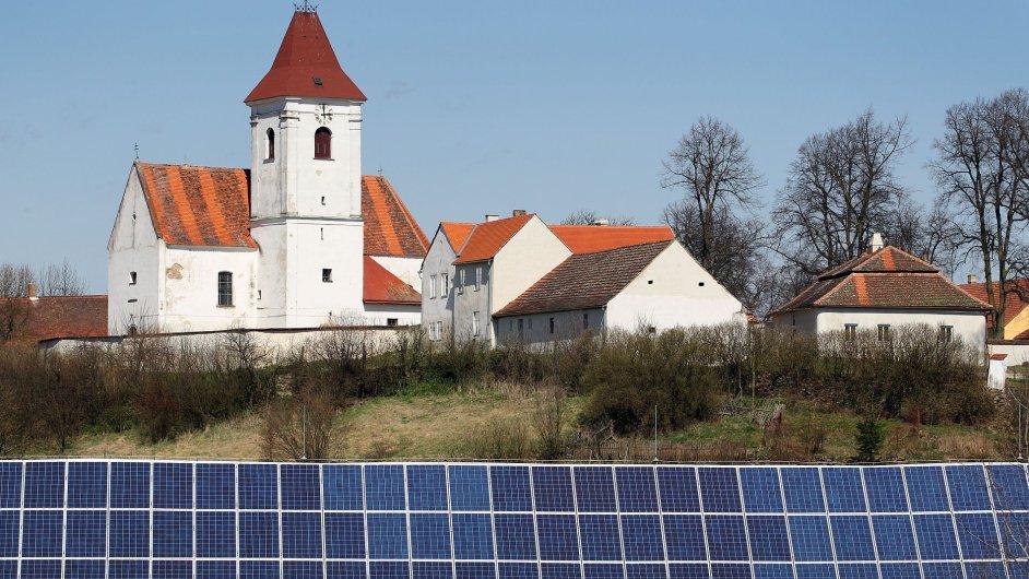 Ilustrační foto - fotovoltaika