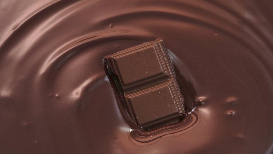 Čokoláda, ilustrační foto