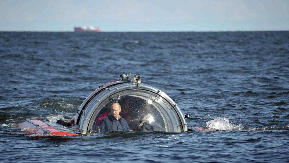 Akční hrdina Vladimír Putin