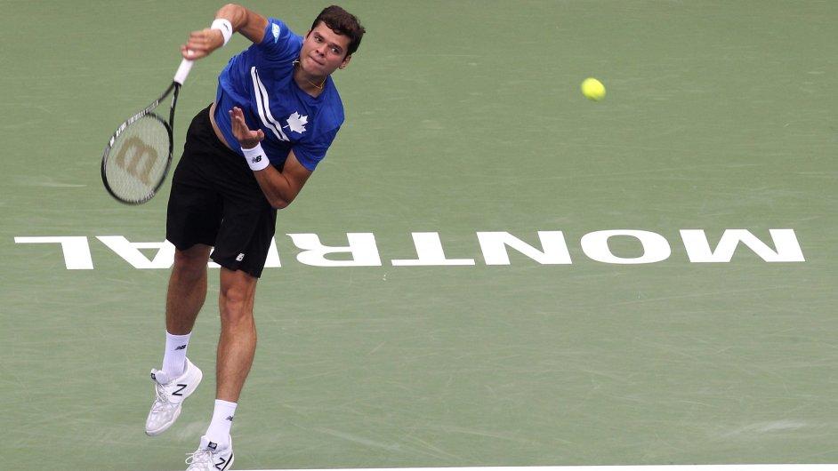 Miloš Raonic - na turnaji v Montrealu, v národních barvách