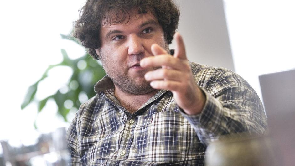 Zakladatel Y Softu a nyní i venture capital investor Václav Muchna.