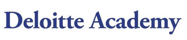 Deloitte Academy modre