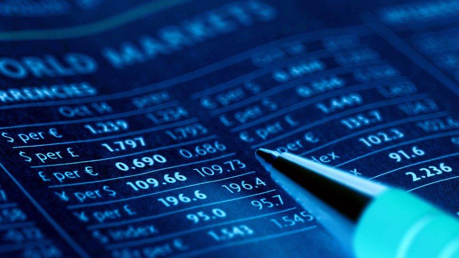 Finanční trhy - ilustrační foto