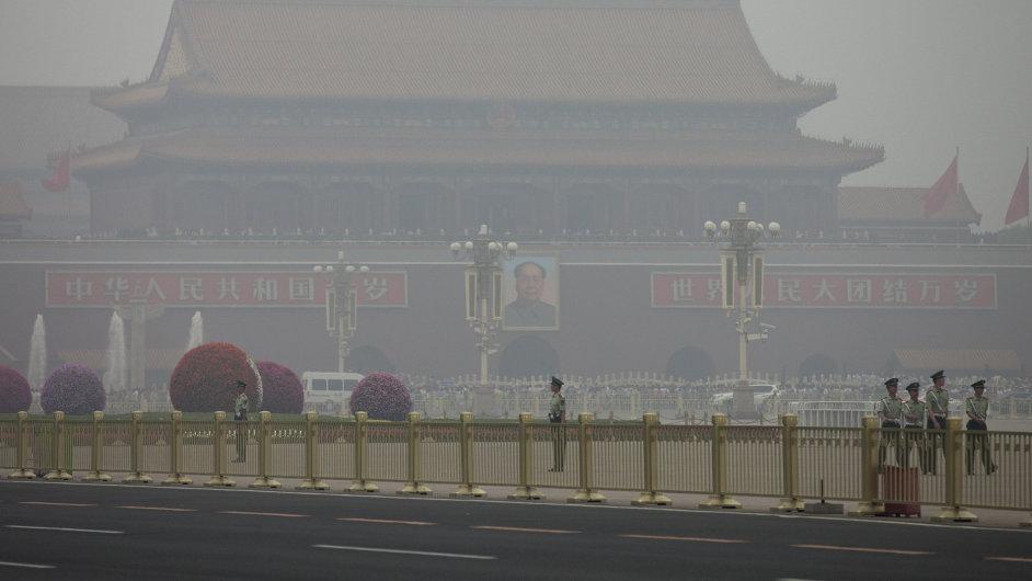 Znečištěné ovzduší v Pekingu