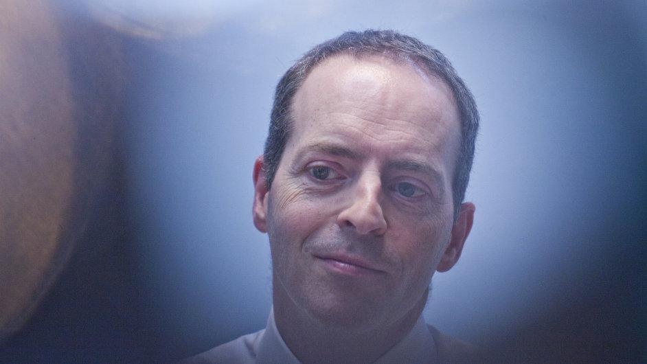 Britský ministr Ian Livingston při své návštěvě Brna