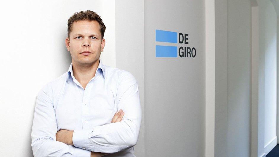 Zakladatel a ředitel nizozemského brokera Degiro Gijs Nagel